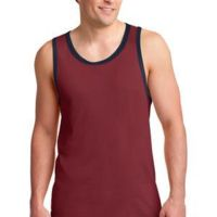 100% Combed Ring Spun Cotton Tank Top Thumbnail
