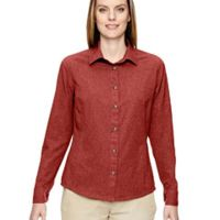 Ladies' Excursion Utility Two-Tone Performance Shirt Thumbnail
