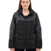 Ladies' Excursion Meridian Insulated Jacket with Mélange Print Thumbnail