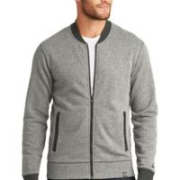 ® French Terry Baseball Full Zip Thumbnail