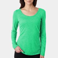 Ladies' Triblend Long-Sleeve Scoop Thumbnail