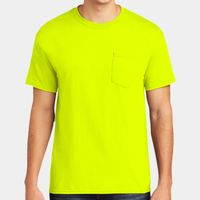 ® Heavy Cotton ™ 100% Cotton Pocket T Shirt Thumbnail