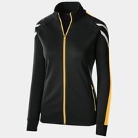 Ladies' Temp-Sof Performance Fleece Flux Warm-Up Jacket Thumbnail