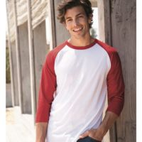 Premium Blend Ringspun Three-Quarter Sleeve Raglan Baseball T-Shirt Thumbnail