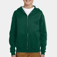 Youth 8 oz. NuBlend® Fleece Full-Zip Hood Thumbnail